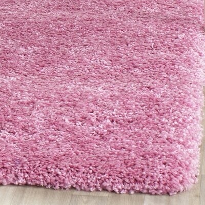 Ariel Pink Indoor Area Rug Rug Size: Square 67
