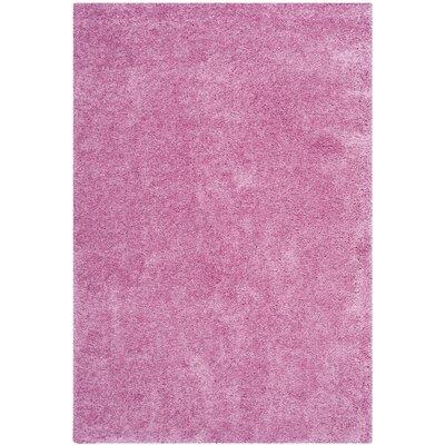 Ariel Pink Indoor Area Rug Rug Size: 4 x 6