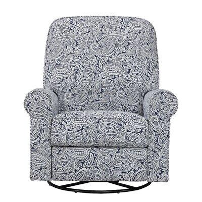 Tara Swivel Recliner Upholstery: Indigo
