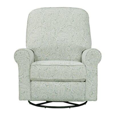 Tara Swivel Recliner Upholstery: Spearmint