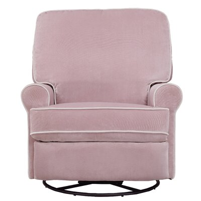 Naomi Swivel Recliner Upholstery: Stella Pink