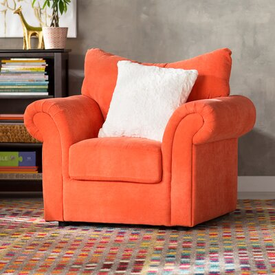 Youth Armchair Upholstery: Orange