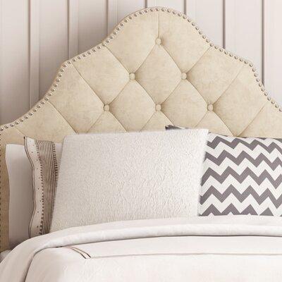 Isaac Twin Upholstered Panel Headboard Upholstery: Buckwheat