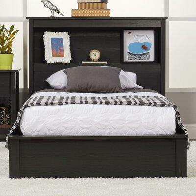 Abby Twin Platform Bed Finish: Black Oak