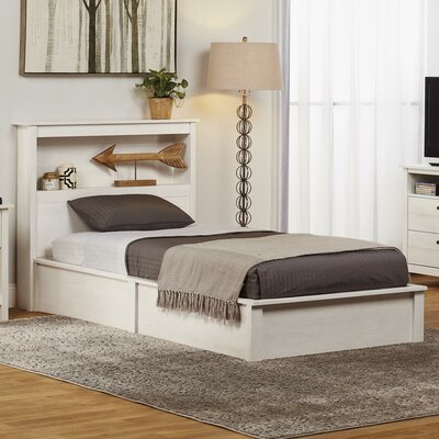 Abby Twin Platform Bed Finish: Ivory Coast