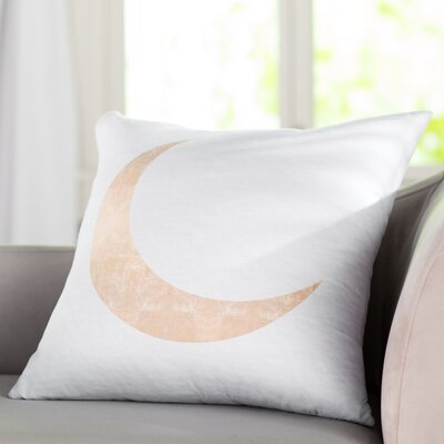 Keagan Moonlight Shadow Throw Pillow Size: 18 X 18