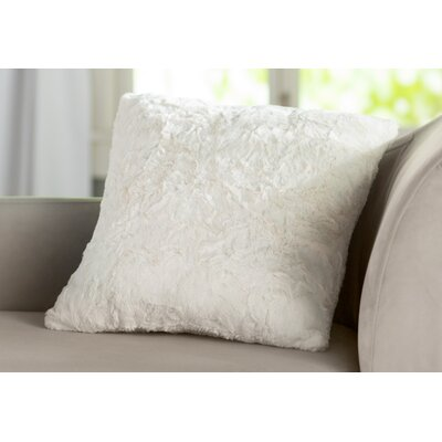 Patterson Faux Fur Throw Pillow