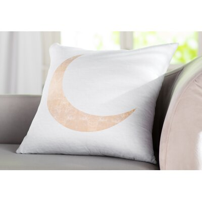 Keagan Moonlight Shadow Throw Pillow Size: 14 X 20