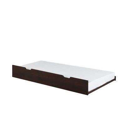Isabelle Under Bed Trundle Finish: Cappuccino