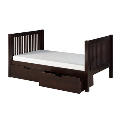 Isabelle Twin Slat Bed with Storage