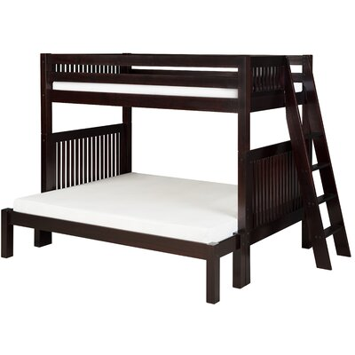 Isabelle Twin Over Full Bunk Bed Finish: Cappuccino