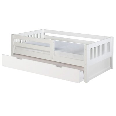 Isabelle Daybed with Trundle Finish: White