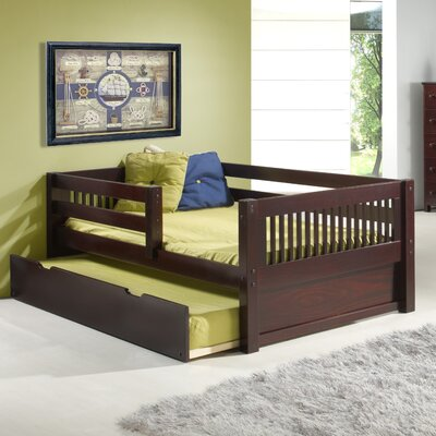 Isabelle Daybed with Trundle Finish: Cappuccino