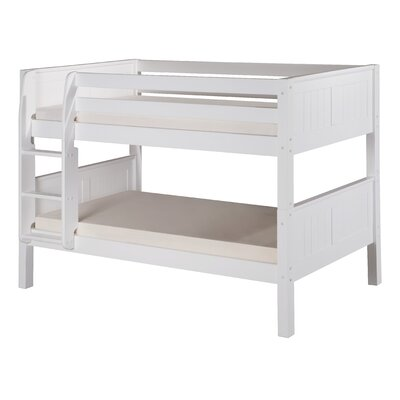 Isabelle Twin Bunk Bed Finish: White