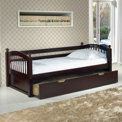 Isabelle Cameron Daybed with Trundle Color: Cappuccino