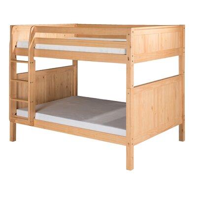 Isabelle Full Over Full Bunk Bed Color: Natural