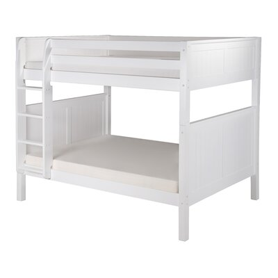 Isabelle Full Over Full Bunk Bed Finish: White