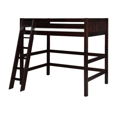 Isabelle Twin Loft Bed Color: Cappuccino