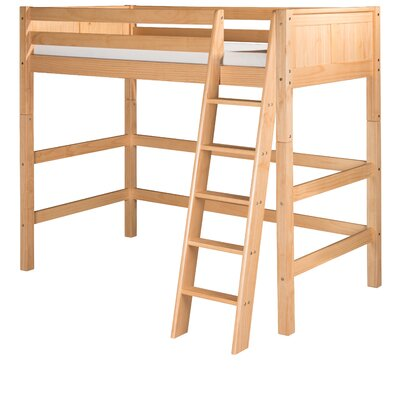 Isabelle Twin Loft Bed Finish: Natural