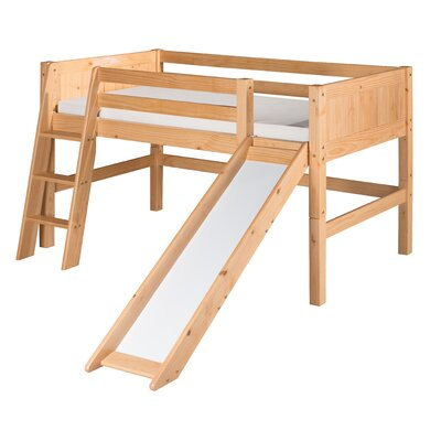 Oakwood Low Loft Bed