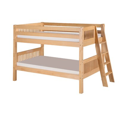 Isabelle Twin Bunk Bed Finish: Natural