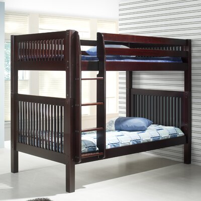 Oakwood Full Over Full Bunk Bed Finish: Cappuccino