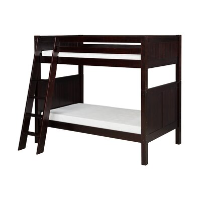 Isabelle Twin Bunk Bed Finish: Cappuccino