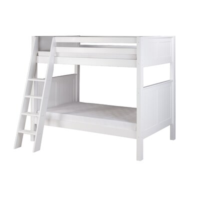 Isabelle Twin over Twin Bunk Bed Color: White