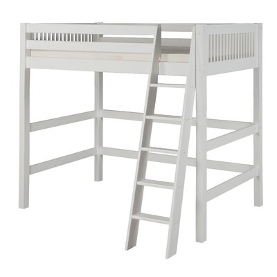 Isabelle Twin Loft Bed Finish: White