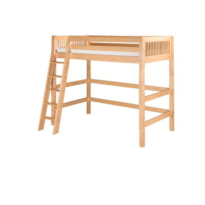 Isabelle Twin Loft Bed Color: Natural