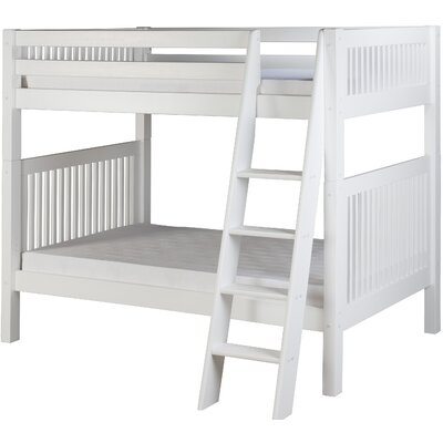 Isabelle Twin over Twin Bunk Bed Color: Cappuccino