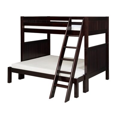 Isabelle Twin over Full Bunk Bed Color: Cappuccino