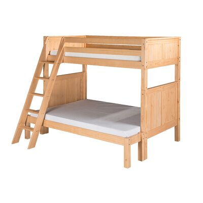 Isabelle Twin over Full Bunk Bed Finish: Natural