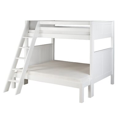 Isabelle Twin over Full Bunk Bed Finish: White