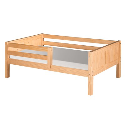 Isabelle Convertible Toddler Bed Finish: Natural