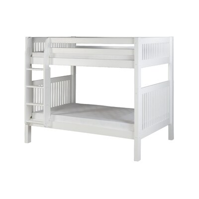 Oakwood Twin Bunk Bed Finish: White