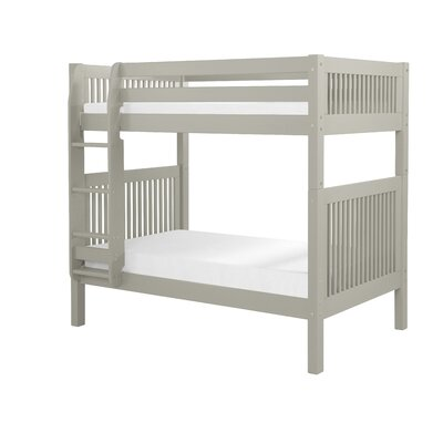 Isabelle Twin Bunk Bed Finish: Grey