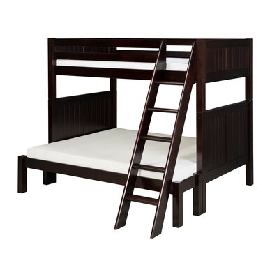 Oakwood Twin over Full Bunk Bed Color: Cappuccino