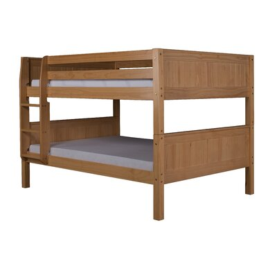 Full over Full Bunk Bed Bed Frame Color: Natural