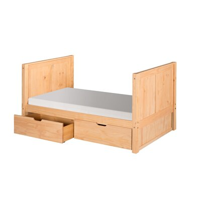 Oakwood Twin Panel Bed Finish: Natural