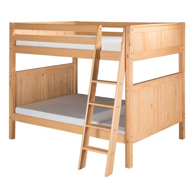 Isabelle Full over Full Bunk Bed Finish: Natural
