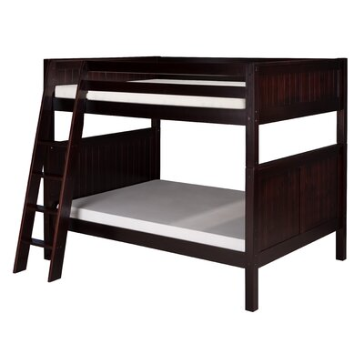 Isabelle Full over Full Bunk Bed Finish: Cappuccino