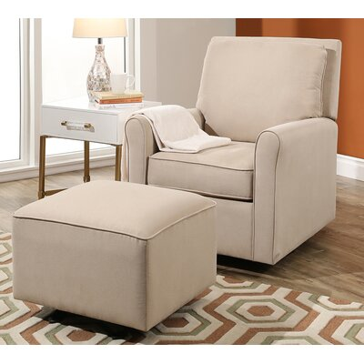 Barnwell Gliding Armchair and Ottoman