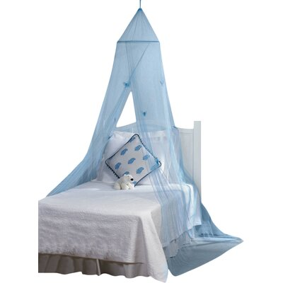 Genaro Butterfly Bed Canopy Color: Blue