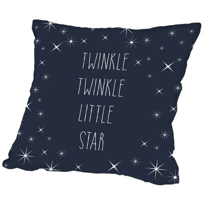 Sierra Twinkle Twinkle Throw Pillow Size: 18 H x 18 W x 2 D