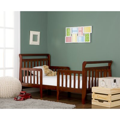 Emma 3 in 1 Convertible Toddler Bed Color: Espresso
