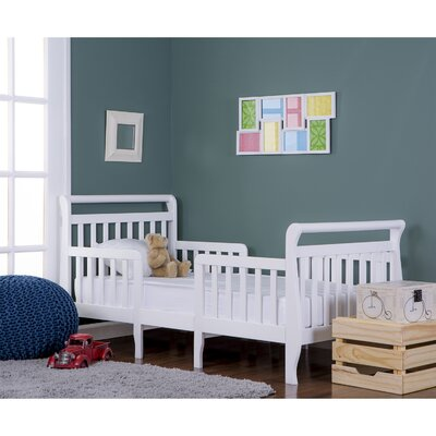 Emma 3 in 1 Convertible Toddler Bed Color: White