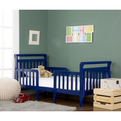 Emma 3 in 1 Convertible Toddler Bed Color: Dark Blue