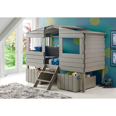 Gabrielle Twin Loft Bed Drawers: Dual Underbed Drawers
