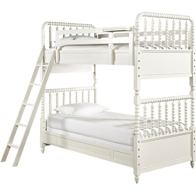 Chassidy Twin Wood Framed Bunk Bed